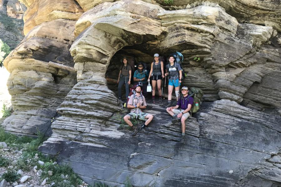 Prescott College Students in the Outdoors